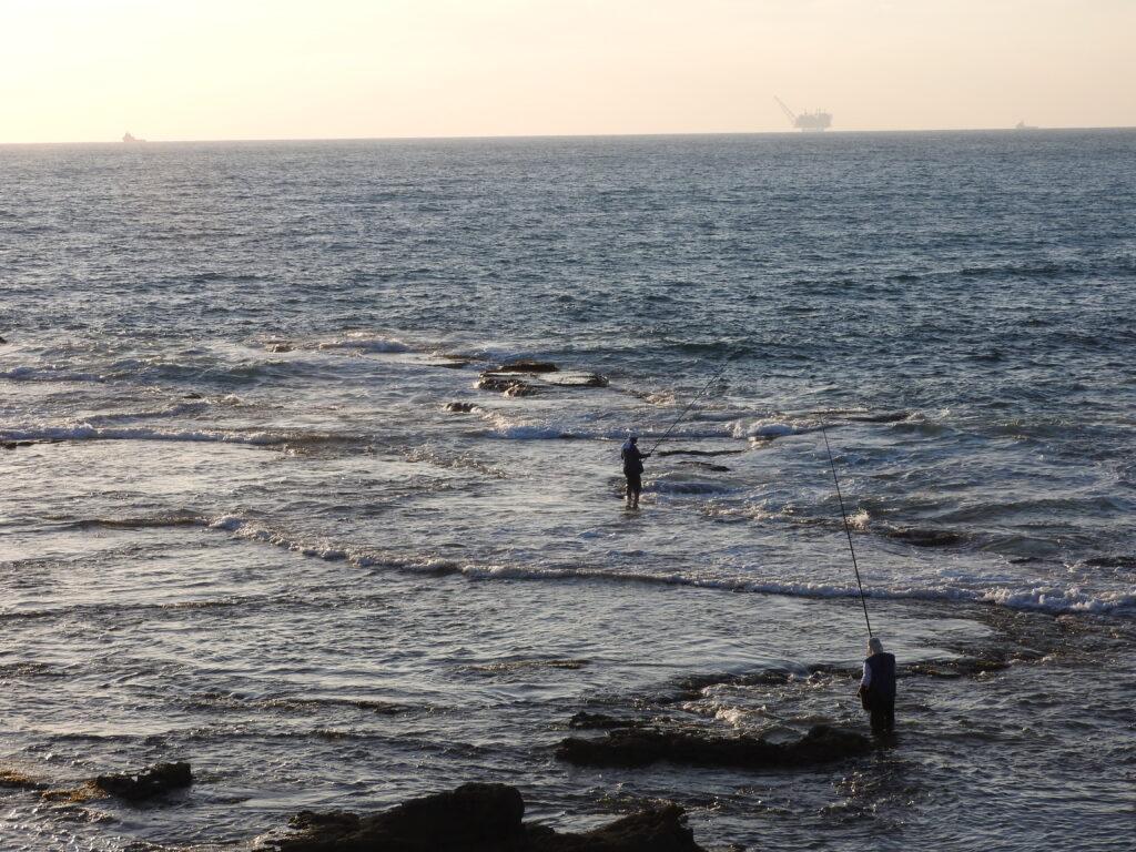דיגים בג'סר א זרקא