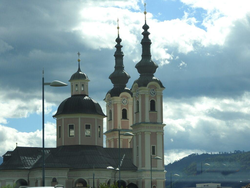 כנסיה בעיר וילאך קרינתיה