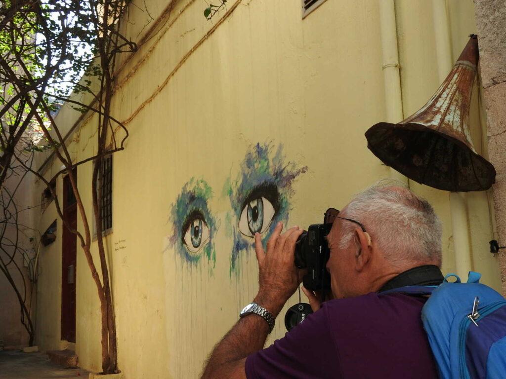 אומנות רחוב בעיר נאפיליו יוון