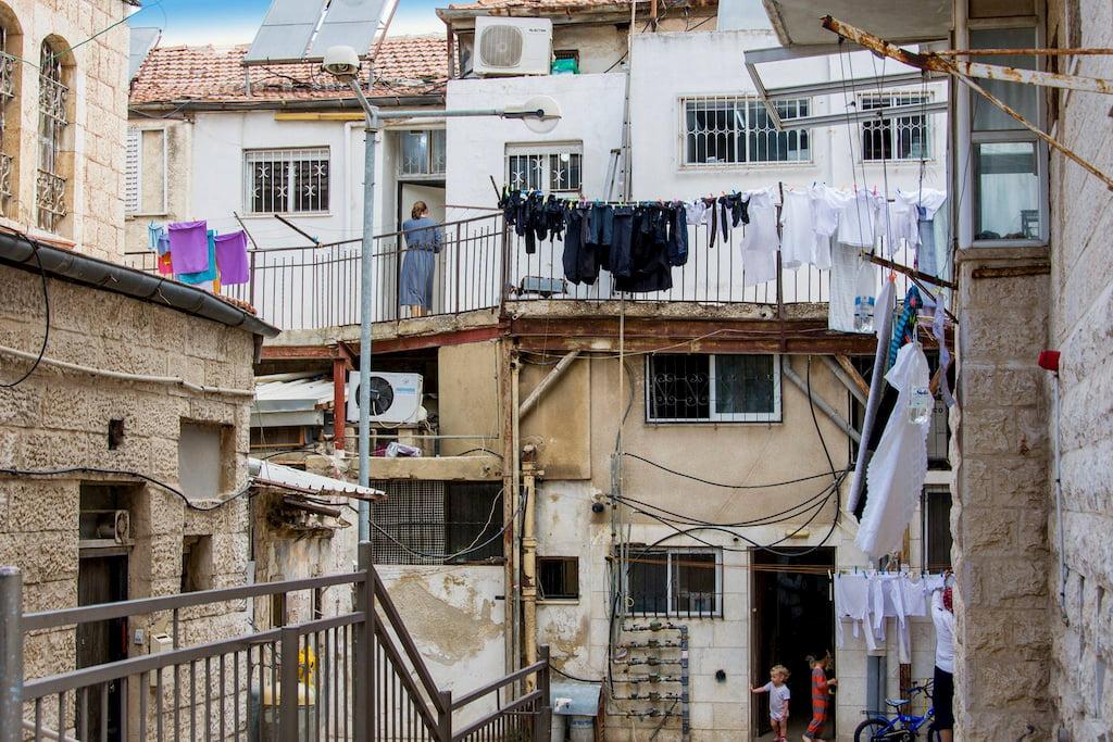 ילדים בשכונת מאה שערים